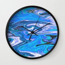 Marbled XVI Wall Clock