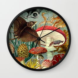 A Curious Place Wall Clock