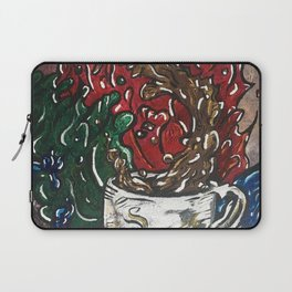 Coffee Catastrophe Laptop Sleeve