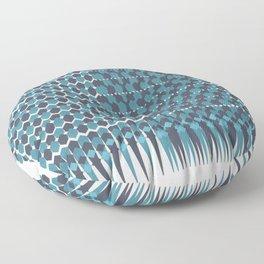 Cubist Ornament Pattern Floor Pillow