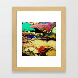 intestine Framed Art Print
