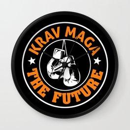 Krav Maga Boxing Self Defense Martial Arts Wall Clock