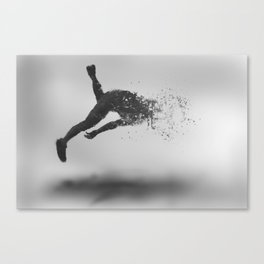 Combustion of Form Canvas Print