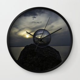 See the world more clearly Wall Clock