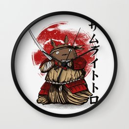 Totosamurai Wall Clock