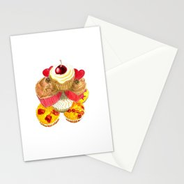 Scrumptious Cupcakes Stationery Cards