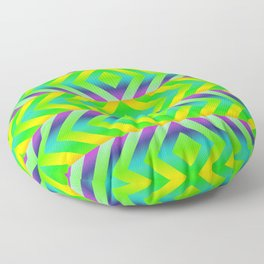 Green Floor Pillow