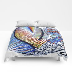 Which Came First? The Indigo or the Egg? Comforters