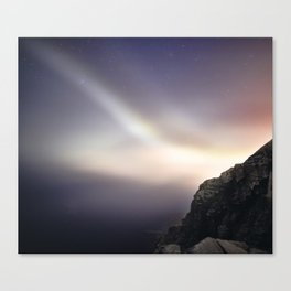 Otter Cliffs at Night Canvas Print
