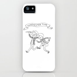 Winchester Time! iPhone Case
