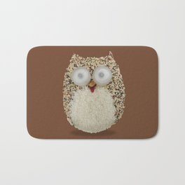 Specs, The Grainy Owl! Bath Mat