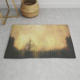 Distorted Landscape II Rug