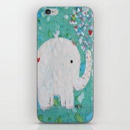 Elephants Love iPhone Skin