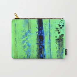 Urban Rain IV Painterly Abstract - Corbin Henry Modern Art Carry-All Pouch