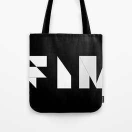Movie Title Sequence Fin. Origami style Tote Bag