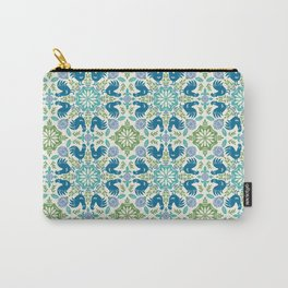 Blue Roosters Carry-All Pouch