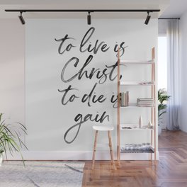 Christ Quote Wall Mural