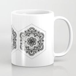 Floral Lace V Coffee Mug