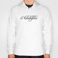 philadelphia Hoodies featuring Philadelphia by Blocks & Boroughs