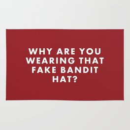 "Fantastic Mr Fox - ""Why are you wearing that fake bandit hat?"" Rug"