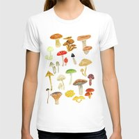 mushrooms T-shirts featuring Mushrooms by Lara Paulussen