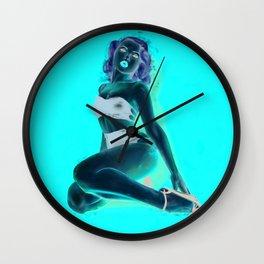 Miss Mosh Pin-up Wall Clock