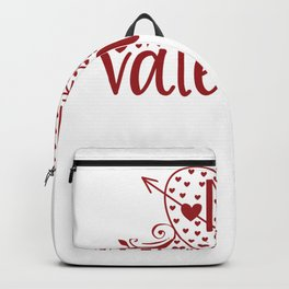 Valentine Typography Mr. Valentine Backpack