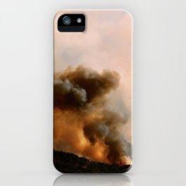 Cedar City Forest Fire - III iPhone Case
