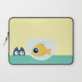 In the waiting line... Laptop Sleeve