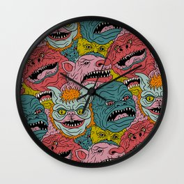 GhoulieBall Wall Clock