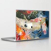 koi Laptop & iPad Skins featuring Koi by Regan's World