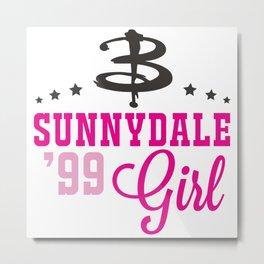 Sunnydale Girl Metal Print