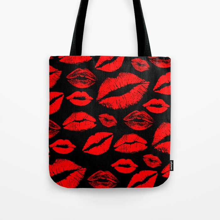 Lips 3 Tote Bag