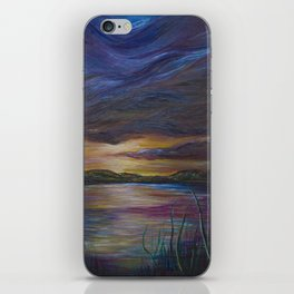 out of darkness comes light iPhone Skin