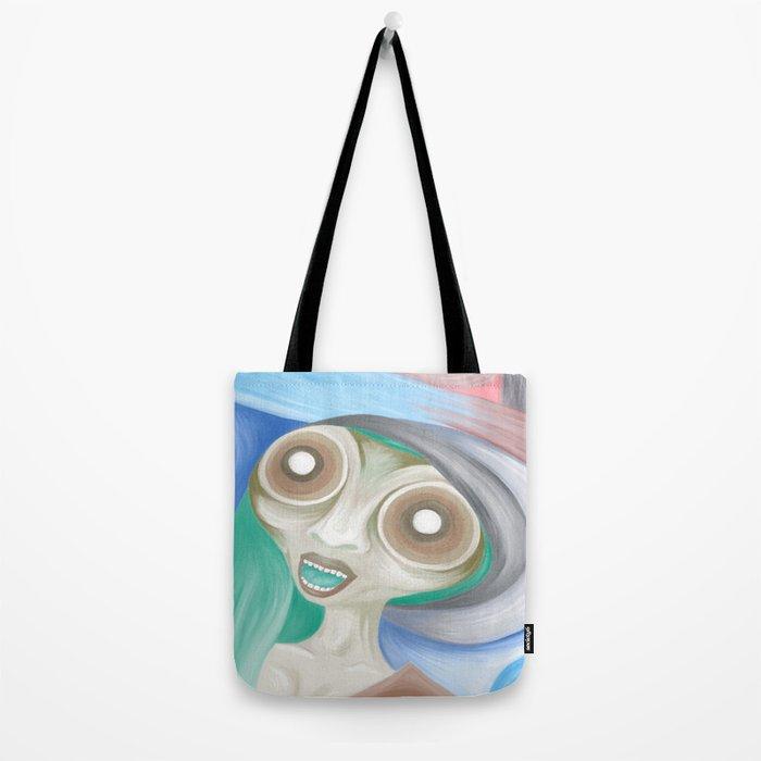 Alien Ailein Tote Bag