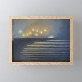 The Point Framed Mini Art Print