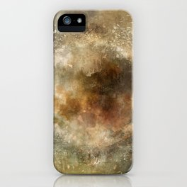 Moon Implosion iPhone Case