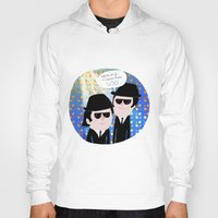 blues brothers Hoodies featuring The Blues Brothers by .....