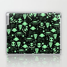 Pizza and the Galaxy Laptop & iPad Skin