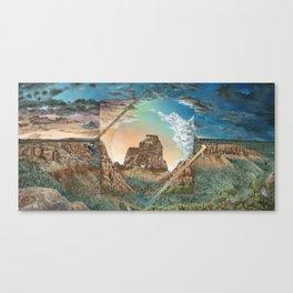 Colorado National Monument Polyscape Canvas Print
