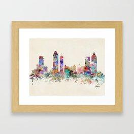 atlanta georgia skyline Framed Art Print