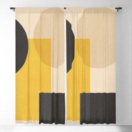 Minimal Geometric 75 Blackout Curtain