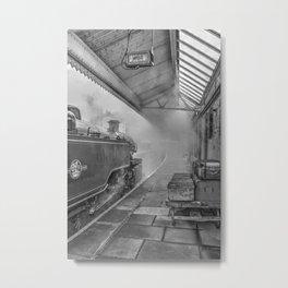 The Train Now Leaving .... Metal Print