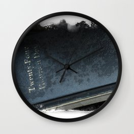 24 Hours A Day Wall Clock