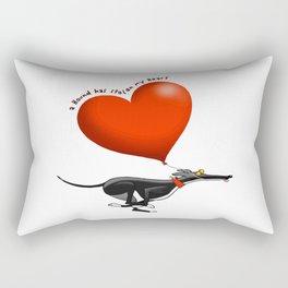 stolen heart Rectangular Pillow