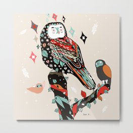 Lovely Dignity Metal Print
