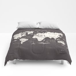 World map comforters society6 the world map comforters gumiabroncs Gallery