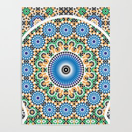 Moroccan Pattern Poster