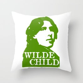 Wilde Child Throw Pillow