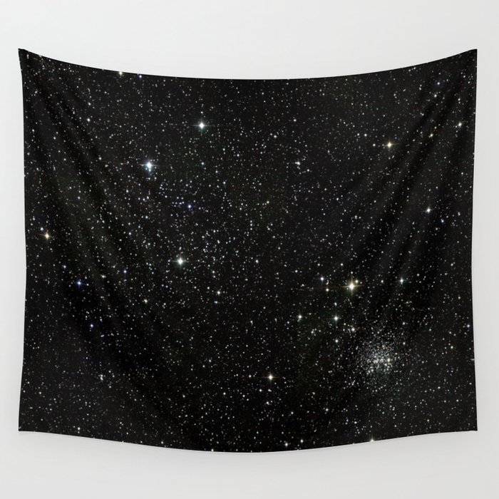 Universe Space Stars Planets Galaxy Black And White Wall Tapestry By Rosemarya Society6